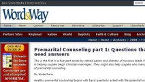 Christian Premarital Counseling Questions For Couples To Ask