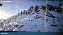 Vercorin 8 janvier 2015 - Val d'Anniviers Video