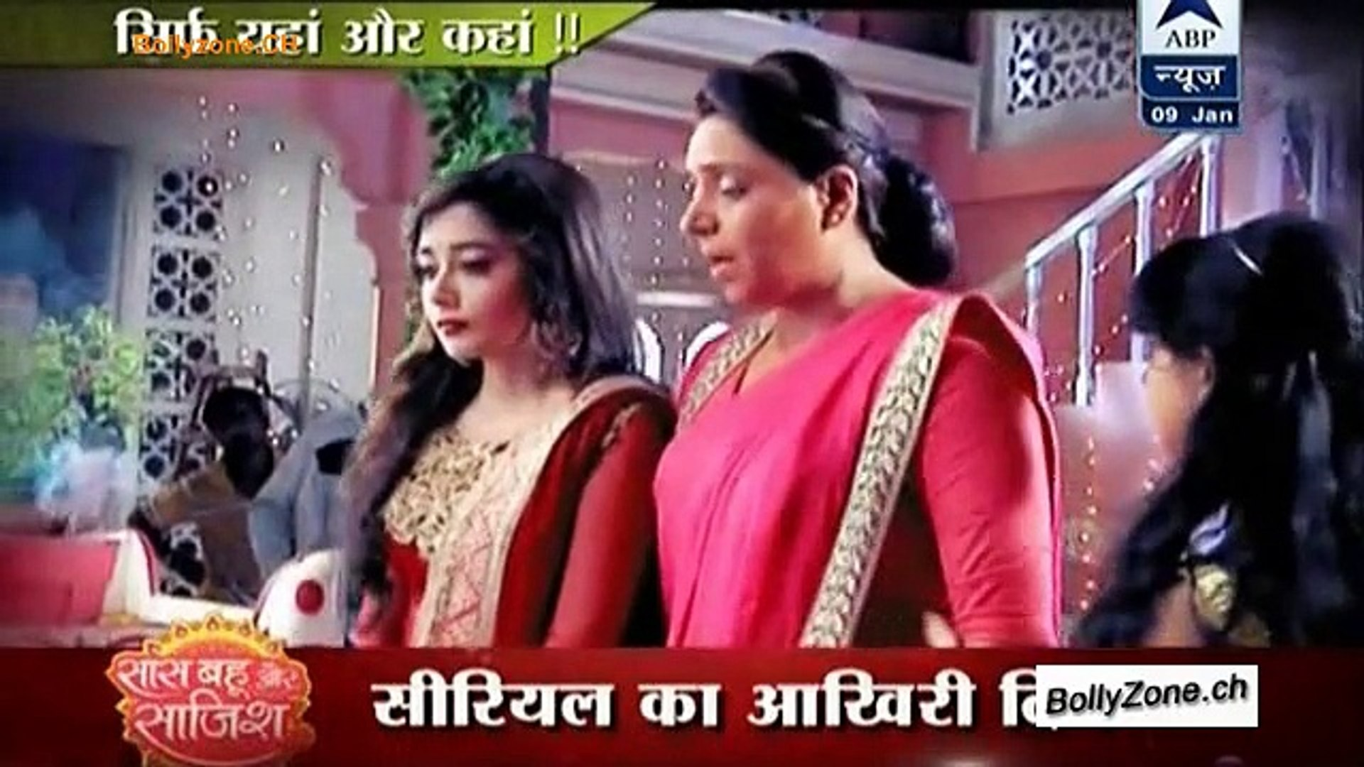 Serial Uttaran Ka Last Day Last Show!! - Uttaran - 9th Jan 2015