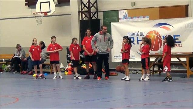 8°Forum MB 2014 - L'école de course (Matthias Manca - Lyon Basket Féminin)