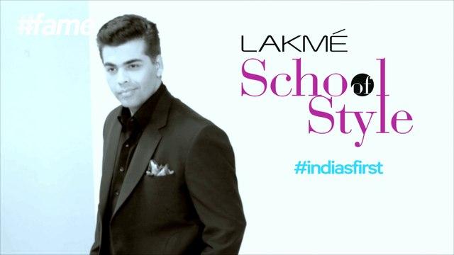 Karan Johar is Ed-in-Chief and Hiring #LakmeSchoolofStyle