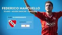 Federico Mancuello, l'élégant gaucher de l'Independiente
