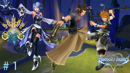 Kingdom Hearts : Birth by Sleep Final Mix - Episode 1 : 3 Keyblades, 3 étoiles