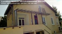 A louer - maison - VILLEURBANNE (69100) - 4 pièces - 84m²