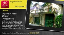 A vendre - propriété - NANTES (44000) - 10 pièces - 255m²
