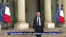 Charlie Hebdo: François Hollande a reçu Nicolas Dupont-Aignan, Robert Hue et François Bayrou