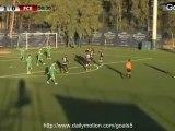 Uwe Moehrle Goal Werder Bremen 1 - 1 Energie Cottbus Friendly Match 9-1-2015