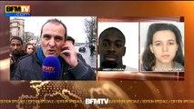 """Prise d'otages Porte de Vincennes: le preneur d'otages """"est arrivé apparemment en présence d'une femme"""""""