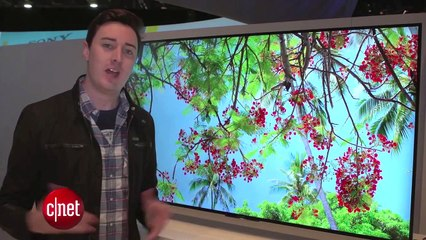 CES 2015 : TV Sony 4K sous Android TV
