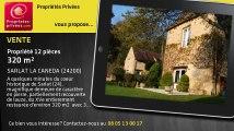 A vendre - propriété - SARLAT LA CANEDA (24200) - 12 pièces - 320m²