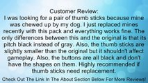 Black buttons, D-pad, Thumbstick set for Playstation 3 controller (Square, Triangle, X, Circle) Custom mod (PS3) Review