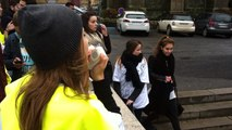 Charlie Hebdo : 350 lycéens dans la rue