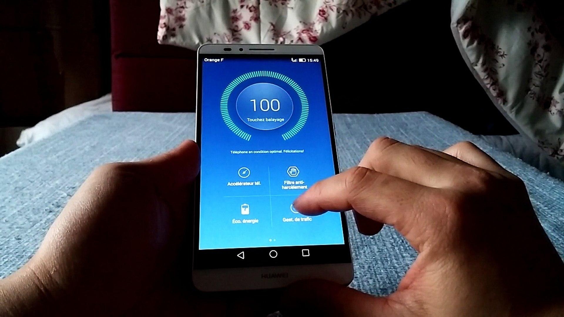 Huawei Mate 7 Applications dédiées Huawei
