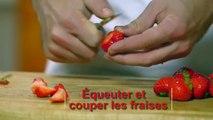 Cuisine : Verrine de charlotte aux fraises