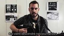 JB Bullet rend un hommage poignant à Charlie Hebdo via une chanson touchante !