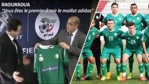 Nouveaux maillots : Raouraoua confirme le maillot vert ?