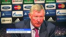 Manchester United 3-2 Braga - Sir Alex Ferguson hails hero Hernandez