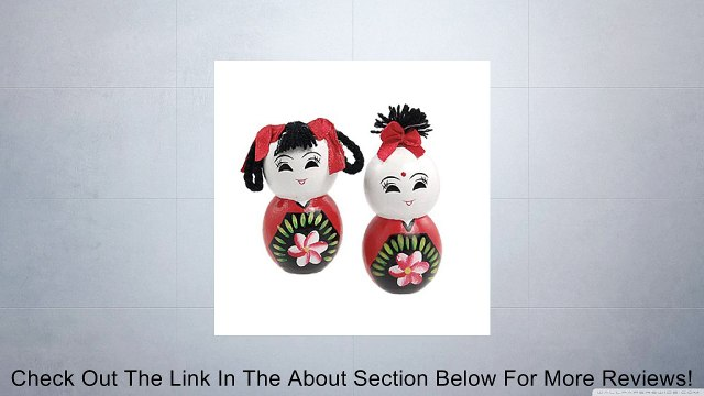 Chinese Fuwa Traditional Wooden Handicraft Couples Doll Review