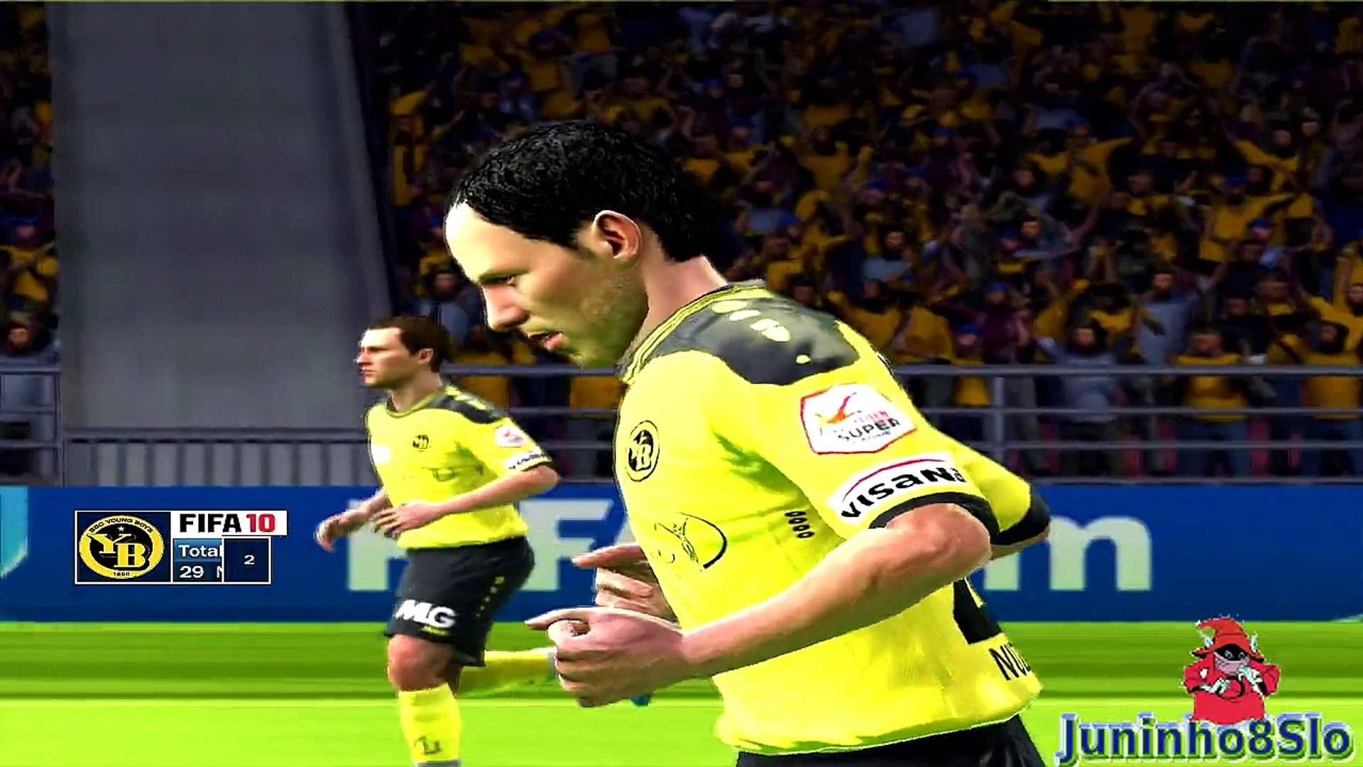 Fifa 10-Manager Mode- BSC Young Boys vs FC Basel-Game 80