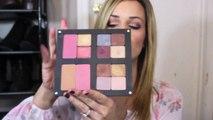 Easy Smokey Eye Makeup tutorial using the inglot freedom palette