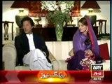 Mr and Mrs Imran Khan  first interview  Khara Sach - 9 January 2015(
