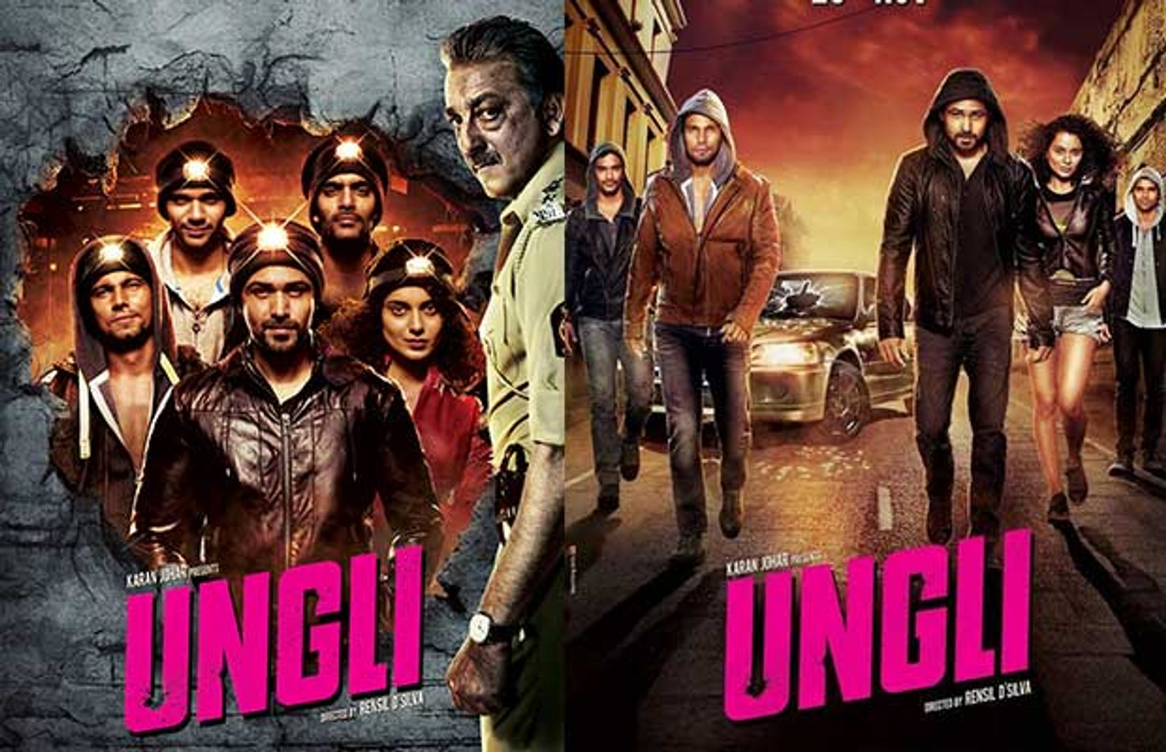 Ungli Bollywood Movie Trailer Emraan Hashmi Kangana Ranaut Randeep Hooda  Sanjay Dutt - video dailymotion