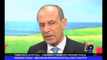 REGIONALI PUGLIA   Berlusconi incontra Schittulli, gelo con Fitto
