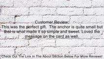 """Dogeared Jewels and Gifts """"Friendship"""" Gold-Plated Sterling Silver Smooth Anchor Pendant Necklace, 18.4"""" Review"""