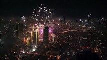 Los impresionantes fuegos artificiales de Manila por 2015