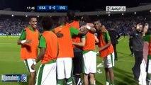 أهداف مباراة السعودية و العراق 2-1 تصفيات كأس آسيا 2015