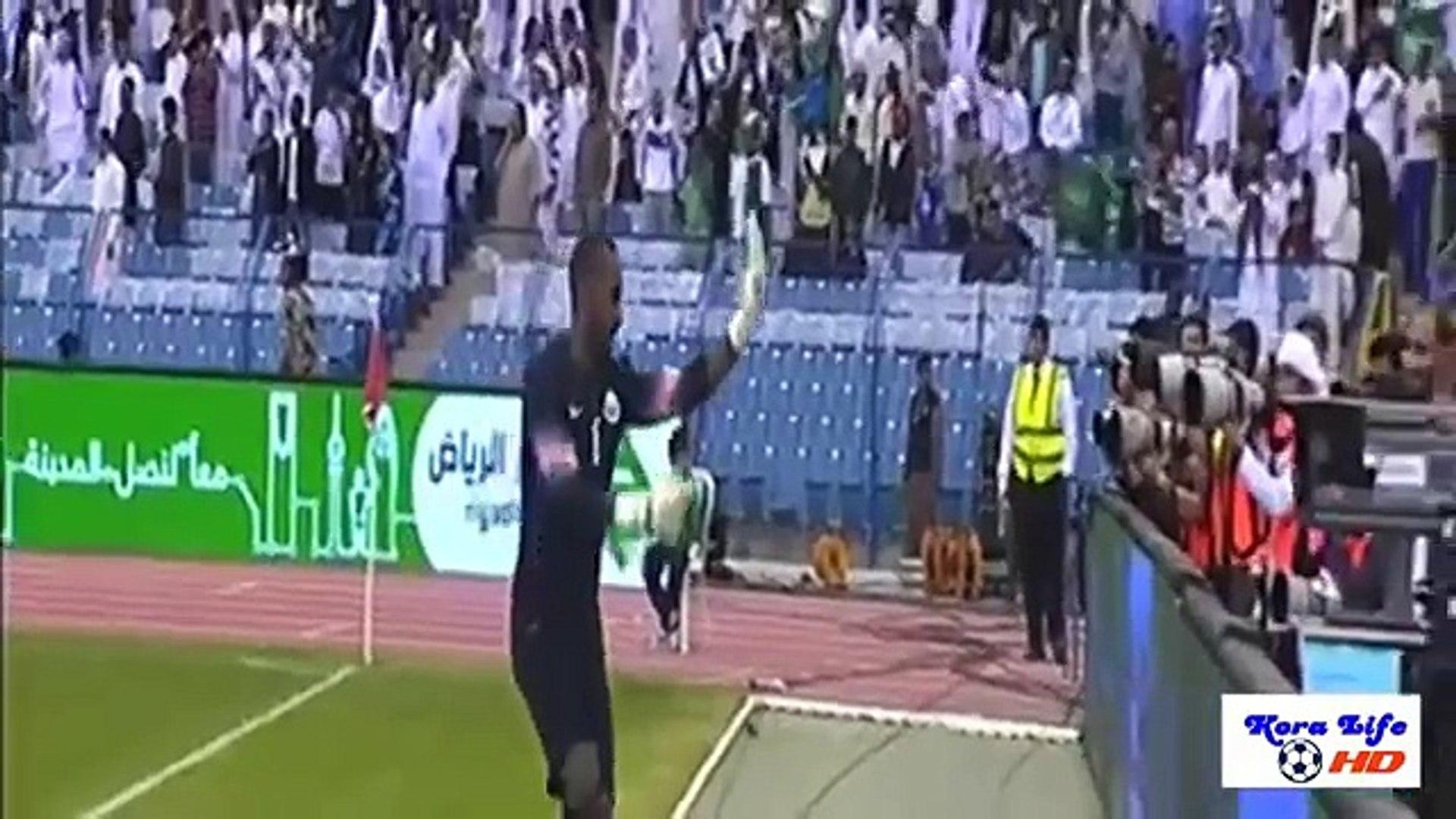 اهداف مباراة السعوديه وقطر 1-1 خليجى 22