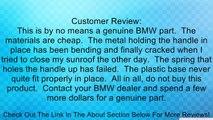 BMW OEM Sunroof Crank Handle for 318i 318is 325e 325i 325ix 524td 528e 533i 535i M3 M5 Made by MTC Review