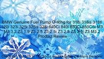 BMW Genuine Fuel Pump O-Ring for 318i 318is 318ti 320i 323i 325i 325is 328i 840Ci 840i 850Ci 850CSi M3 M3 3.2 Z3 1.9 Z3 2.5 Z3 2.5i Z3 2.8 Z3 3.0i Z3 M3.2 Review