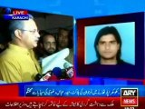 Haider Abbas Rizvi MQM condemn extra judicial killing of MQM worker Faraz Alam in police custody