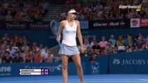 Maria Sharapova vs Ana Ivanovic FINAL Highlights HD Brisbane 2015