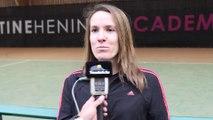 """Open d'Australie 2015 - Justine Henin : """"Je suis un peu nostalgique"""""""