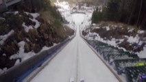 Nouveau Record du monde de saut à ski