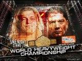 Edge & MVP vs Chris Benoit & Batista, Saturday Night's Main Event XXXIV (02.06.2007)