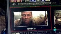 Corazones de acero Brad Pitt contra el ejército alemán