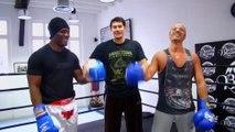 Vincent Parisi coach Eric DIMECO sur Beinsports en Boxe Anglaise avec Brahim Asloum Champion Olympique de Boxe Anglaise.