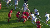 TOP14 - Toulon-Racing: Essai Matt Giteau (TLN) - J16 - Saison 2014/2015