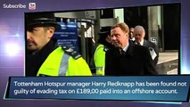 Harry Redknapp - England manager -  Tottenham manager cleared of tax charges - Feb 8