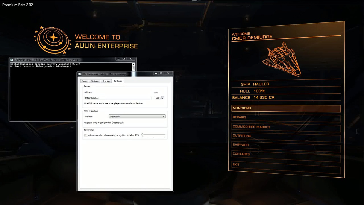 Elite Dangerous Trading Tools