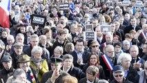 Rassemblement pour Charlie à Saint-Brieuc