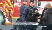 Paris Solidarity with Charlie Hebdo Victims - Charlie Hebdo Reaction - CNBC International - Video Dailymotion