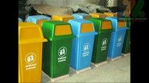 Thùng rác nhựa composite, thùng rác cố định, thùng rác công cộng