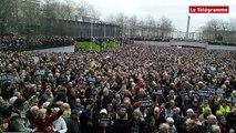 Brest. 65.000 personnes pour Charlie !