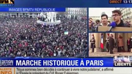 Je Suis Charlie - Il mondo in marcia a Parigi. Senza paura