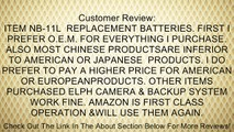 TWO NB-11L Lithium Ion Replacement Batteries for Canon Elph 110 HS, Canon PowerShot A2300, A2400 IS, A3400, A4000 IS, Canon Ixus 125 HS, 240 HS Digital Cameras DavisMAX NB11L Accessory Bundle Review