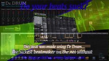 Making music beats with Dr Drum - software beat maker